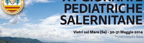 XV Giornate Pediatriche Salernitane