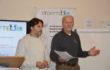Luigi Frezza (UNIPOSMS - Italia) e Peter Fruhmann (Storybag - Paesi Bassi)